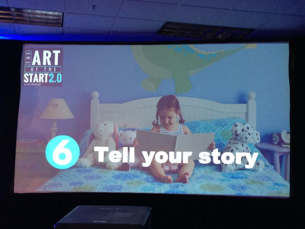 Guy Kawasaki - tell your story