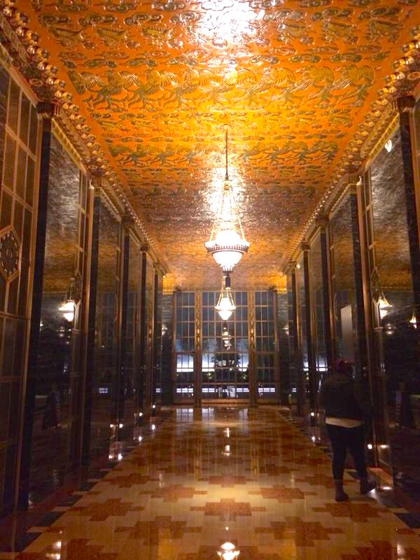 Yelp has the most stunning lobby in all of SF. 140 New Montgomery, ex PacBell building built in 1925