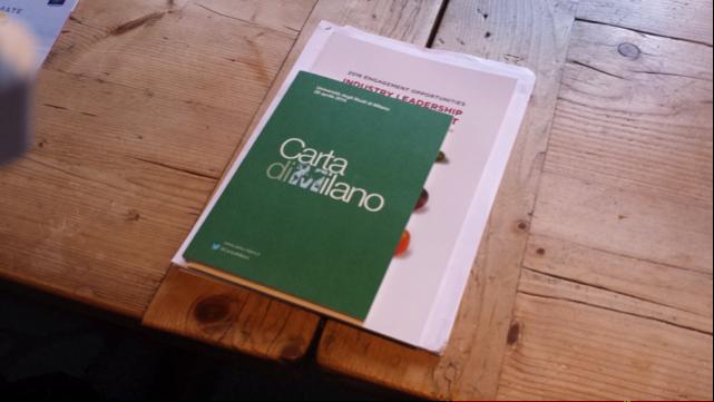 La firma della Carta di Milano, eredità di Expo Milano 2015-3