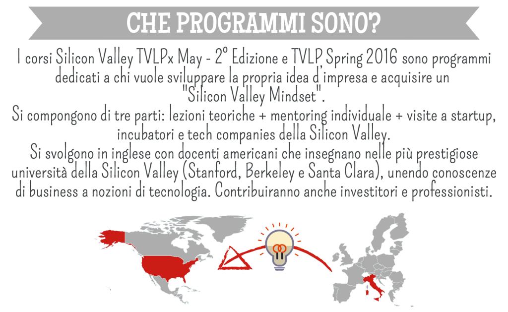Programmi per startup in Silicon valley